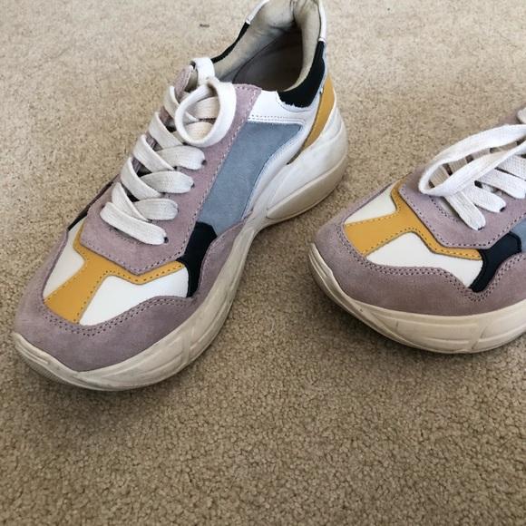 Steve Madden Memory Sneaker In Pink